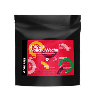 Goriffee Ethiopia Wolichu Wachu Natural Coffee