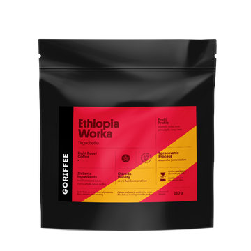 Goriffee Ethiopia Worka Anaerobic Coffee