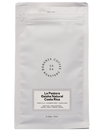 Bonanza La Pastora Geisha Natural Coffee