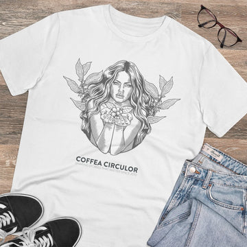 Coffea Circulor Coffea Circulor Angel Organic T-shirt - Unisex