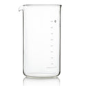 Barista & Co Coffee Press Replacement Beaker (8 Cup / 3 Mug / 900ml)