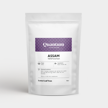 Quantum Assam TGFOP 2nd Flush Loose Leaf Black Tea