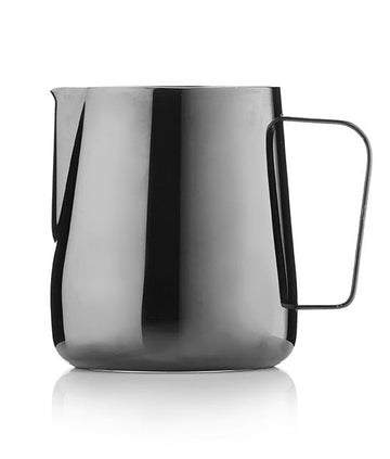 Barista & Co Black Pearl Milk Pitcher Jug (420ml)