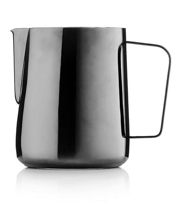Barista & Co Black Pearl Milk Pitcher Jug (600ml)