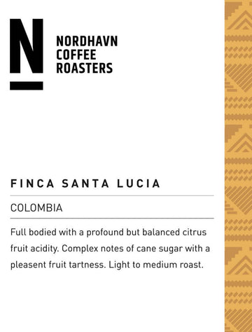 Nordhavn Colombia Finca Santa Lucia Coffee (Washed)