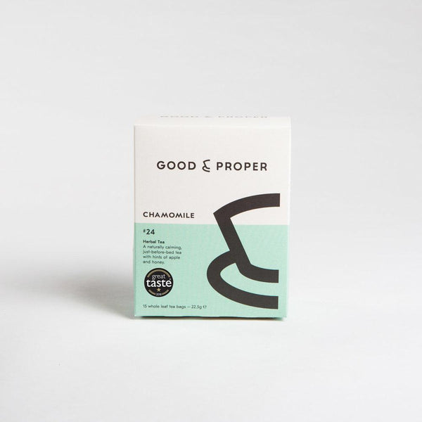 Good & Proper Tea Chamomile Tea Bags Herbal Tea