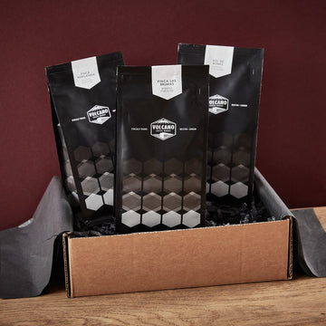 Volcano Coffee Works Single Origin Coffees Gift Set