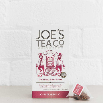 Joes Tea Co Chocca-Roo-Brew Herbal Tea (15 Pyramid Bags)
