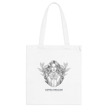 Coffea Circulor Coffea Circulor Angel and Evangelists Eco-Cotton Tote Bag