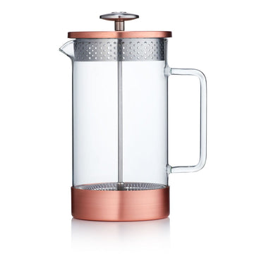 Barista & Co Coffee Press (8 Cup / 3 Mug) Glass Beaker