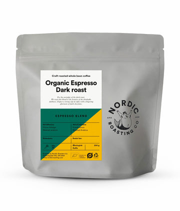 Nordic Roasting Co Darkness My Old Friend Organic Espresso Coffee