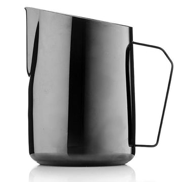 Barista & Co Black Pearl Dial In Milk Pitcher (600ml)