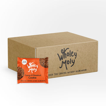 Wholey Moly Cacao & Hazelnut Cookies (Case of 12)