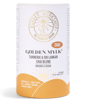 Wunder Workshop Golden Mylk® Chai Turmeric Latte (100g)