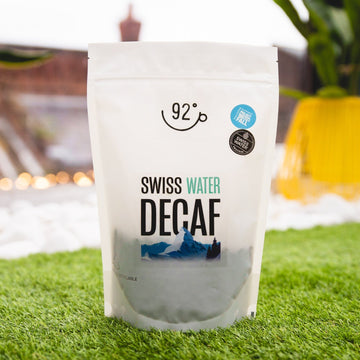 92 Degrees Swiss Water Decaf Coffee