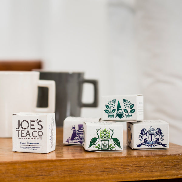 Joes Tea Co Feisty Turmeric Guru Black Tea (Matchboxes)