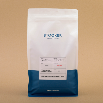 Stooker El Salvador Jose Antonio Salaverria & Sons Coffee