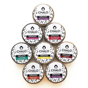 CHALO Organic Essentials Package (8 Pulses, Grains & Rice)