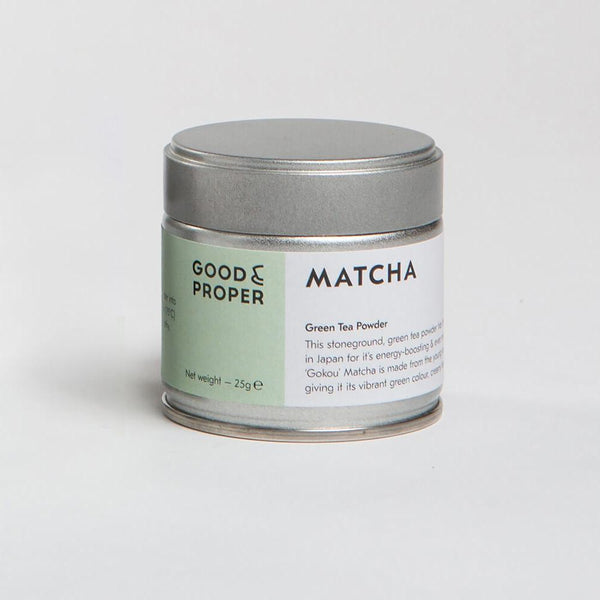 Good & Proper Tea Matcha Ceremonial Grade Green Tea Powder