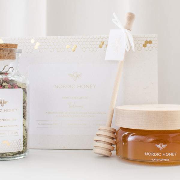 Nordic Honey Tea & Honey Organic Nordic Honey Tealiscious Gift Set