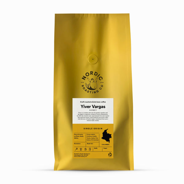 Nordic Roasting Co Yiver Vargas Honey Coffee