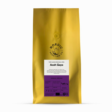 Nordic Roasting Co Aceh Gayo Wet Hulled Coffee