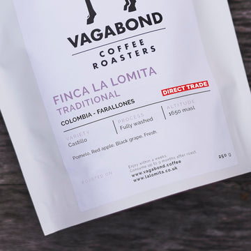Vagabond Direct Trade Colombia Finca La Lomita Coffee (Traditional)