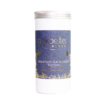PekoeTea Edinburgh Kinnettles Scottish Flowers Loose Leaf Herbal Tea