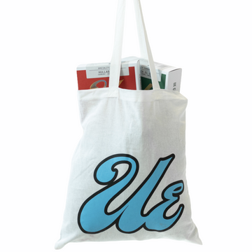 Ue Ue Branded Ethical Cotton Tote Bag