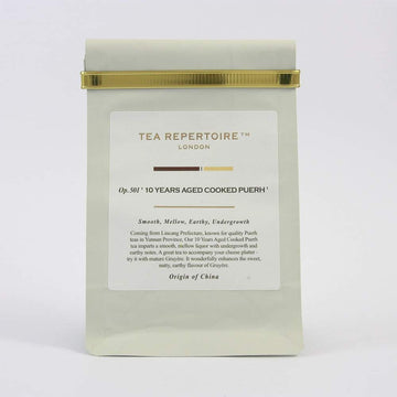 Tea Repertoire 10 Years Aged Cooked Loose Leaf Pu Erh Tea