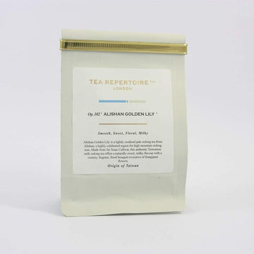 Tea Repertoire Alishan Golden Lily Loose Leaf Oolong Tea