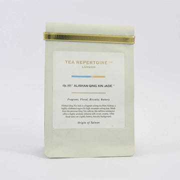 Tea Repertoire Alishan Qing Xin Jade Loose Leaf Oolong Tea