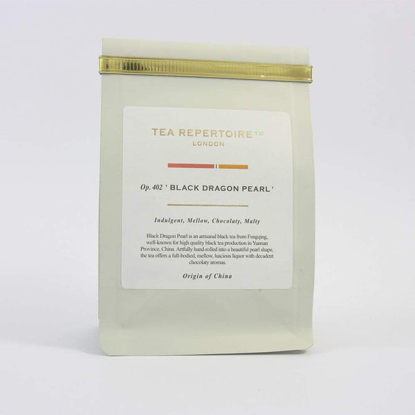 Tea Repertoire Black Dragon Pearl Loose Leaf Black Tea