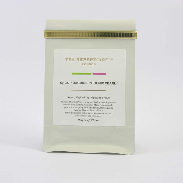 Tea Repertoire Jasmine Phoenix Pearls Loose Leaf Green Tea