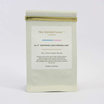 Tea Repertoire Sun Moon Lake Formosa Jade Loose Leaf Oolong Tea