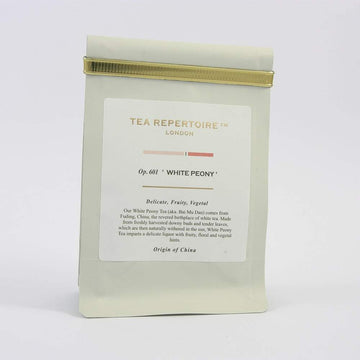 Tea Repertoire White Peony Loose Leaf White Tea