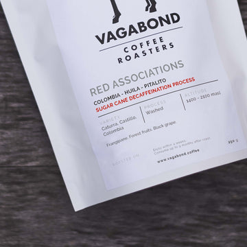 Vagabond Colombia Red Associations Decaf Coffee