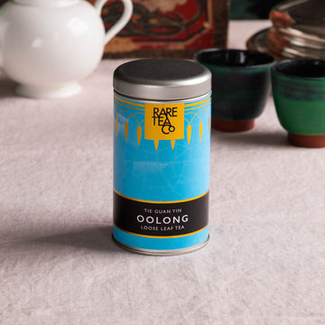 Rare Tea Co Chinese Iron Goddess Loose Leaf Oolong Tea