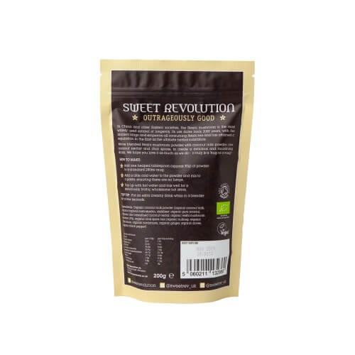 Sweet Revolution Organic Instant Chai Latte with Reishi