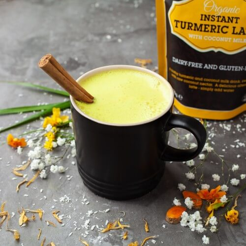 Sweet Revolution Organic Instant Turmeric Latte with Black Pepper