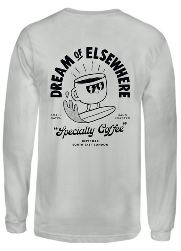 Elsewhere Elsewhere Graphic Long Sleeve T (Grey)