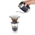 Barista & Co Corral Stainless Steel Pour Over Coffee Maker