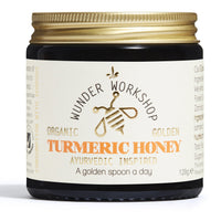 Wunder Workshop Golden Turmeric Honey (120g)