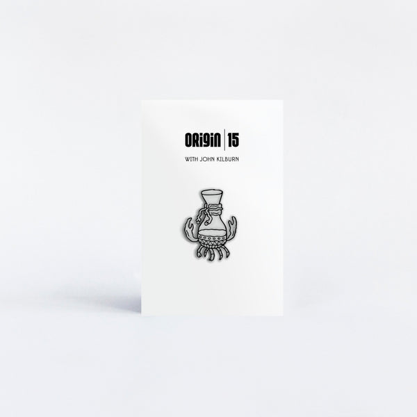Origin Origin 15 Years Enamel Pin (Chemex Crab)