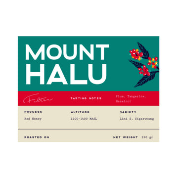 Ngopi Indonesian Mount Halu Coffee