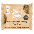 Wholey Moly Almond Butter & Hemp Cookies (Case of 12)