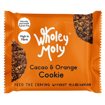 Wholey Moly Cacao & Orange Cookies (Case of 12)