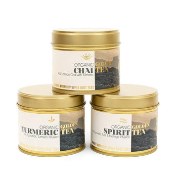 Wunder Workshop Golden Spirit Tea - Tulsi Mind Tonic (70g)