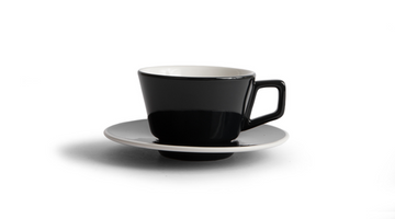 Created Co Angle Latte Mug Set (Case of 6) (Black)