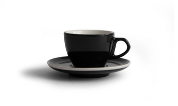 Created Co Curve Cappuccino Mug Set (Case of 6) (Black)